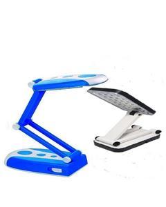 Pack of 2 - Triumph Rechargeable LED Folding Desk Lamp - Blue & White