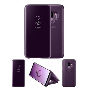 Original Samsung S9/ Samsung Galaxy S9 Clear View Cover Case/ Smart Cover - Purple