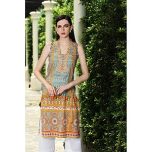 So Kamal Winter Collection  Multi Cotton Embroidered 1PC -Unstitched Shirt DFP18 540 EF01144-STD-MLT