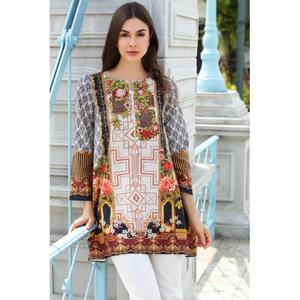 So Kamal Winter Collection  Multi Karandi Embroidered 1PC -Unstitched Shirt DPW18 756 EF01271-STD-MLT