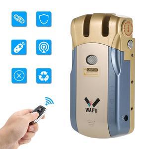 Wafu Wireless Invisible Smart Remote Control Door Lock