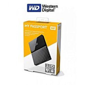 WDMy Passport Portable External Hard Drive - 1Tb - Black