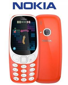 "Nokia 3310 - 2.4"" Qvga Display - 16Mb Rom - Red"