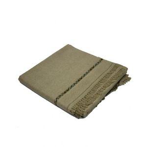 Grey Wool Handmade Shawl for Men