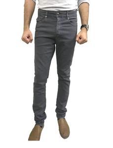 Grey Slim Fit Denim Jean for Men