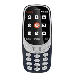 Nokia 3310 - Dual Sim - 2.4 inch Screen 16MB - 2 MP Camera - Black