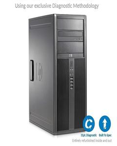 Elite 8200 MicroTower - Intel Core i3 -2120 2nd Gen 3.1GHz, 2GB DDR3, 250GB Hard Drive, Windows 10 Pro 64-Bit, DVD, Display Port - Certified Pc