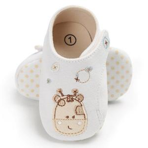 Fashion Cotton Cloth First Walker Cartoon Boy Girls Shoes Bebe Toddler Shoes