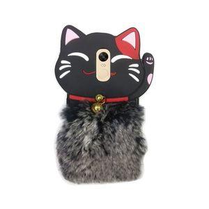 Xiaomi Redmi Note 4 Furry Meow Phone Case - Multicolor