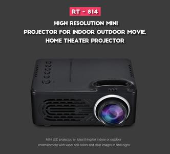 Product Description  Elephantboat RD 814 1080P Portable LED Mini Projector is one of the top LED mini projectors available in the market. The model's easy to use features combined with the portable and dust-proof design makes it an ideal choice for