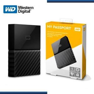 WD My Passport Portable External Hard Drive 1TB - USB 3.0