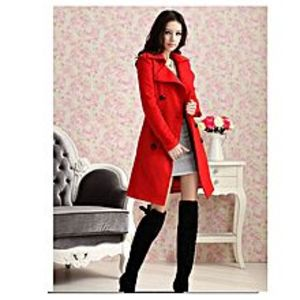 DreamsFashionTRENCH DOUBLE BUTTON STYLISH LADIES COAT FOR WINTER