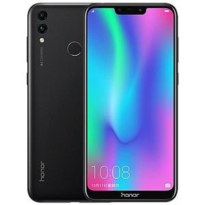"Honor 8c - 6.26"" HD+ Display - 3GB RAM - 32GB ROM - Fingerprint Sensor - Smartphone - Mobile Phone Black"