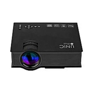 UNIC UC46 - 1200 Lumens Portable Multimedia HD Mini LED Projectors