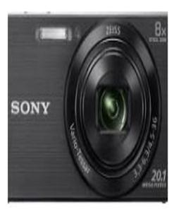 Dsc-W830 Compact Camera With 8X Optical Zoom