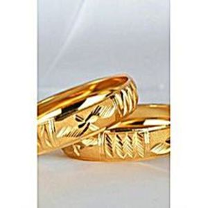 Ring Gold Plated Titanium Golden Ring For Men