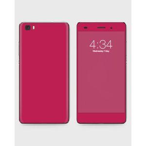 Huawei Honor P8 Lite (2015) Skin Wrapin Dark Magenta Color - 1Wall20