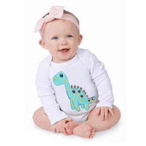Stonershop Toddler Newborn Baby Long Sleeved Cartoon Animal Romper Jumpsuit Clothes