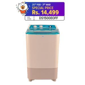 Haier HWM120-35FF - Top Load Semi Automatic Washing Machine - 12kg