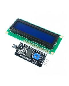 16X2 Line Lcd Display With Blue Backlight With I2C Module