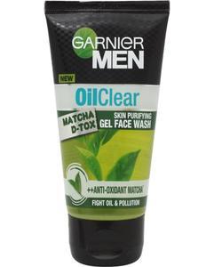 Garnier  Facewash 100g  Oil Clear Matcha D-Tox