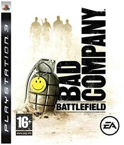 BATTLEFIELD BAD COMPANY PS3 GAME DVD WITH 1 FREE GIFT OF YOUR CHOICE