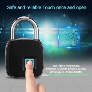 Safe & Secure Smart Fingerprint Door Lock