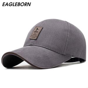 New Fashion 100%Cotton Baseball Caps for Men and Women Outdoor Sun Hats with Adjustable Straps Sports Style P Cap For Boys