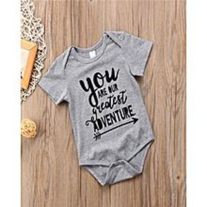 Mumzloves 2018 Brand New Newborn Toddler Infant Baby Boy Girl Bodysuit Short Sleeve Jumpsuit Outfits Cotton Clothes Casual Playsuit
