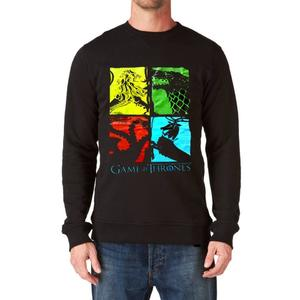 Game of Thrones Black Sweatshirt for Men