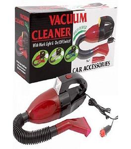 Pack of 2 - Car Vacuum Cleaner & Car Air Compressor Pump