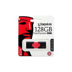 Kingston 128GB USB & Card 3.0 DataTraveler 106 (100MB/s read) - Lifetime Warranty