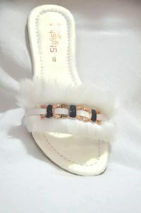 Cat hair slipper for women