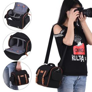 DSLR SLR Camera Shoulder Messenger Bag Case Shockproof Waterproof for Canon Nikon Sony  Panasonic Olympus and Lens