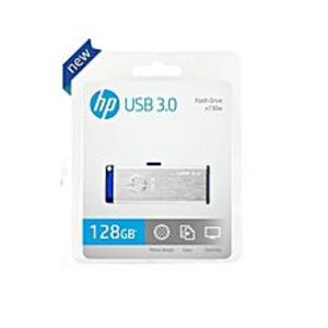 HP 128GB USB Flash Drive X730W 3.0 Speed - Silver