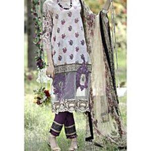 AlmirahNatural Lawn 3 PCS Unstitched Suit for Women