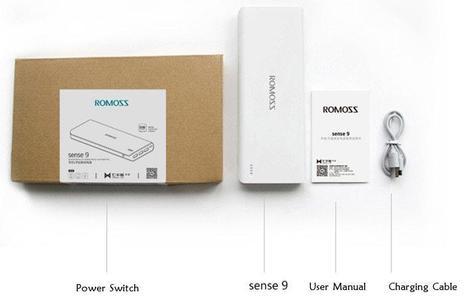 Sealed & Box Packed Romoss Sense 4 Plus Power Bank - 10400mAh