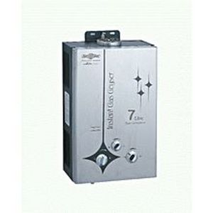 NasgasInstant Gas Geyser DG-7L DLX STEEL  7-Liter