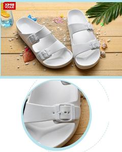 High Quality Flip Flop Slippers-White-Size:45