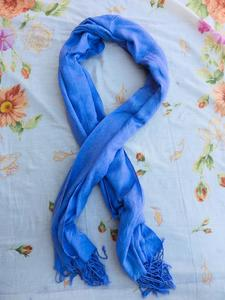 Blue Design Long Scarf Fashion Big Summer Sunscreen Wraps Lady's Shawls