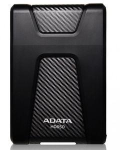 Adata Anti-Shock Portable External 1TB Hard Drive - HD650 - Black