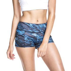 MissFortune Ladies Printed High Strength Quick Dry Sports Running Fitness Yoga Shorts
