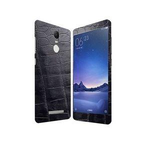 Xiaomi Redmi Note 3 Black Crocodile Leather Texture Skin