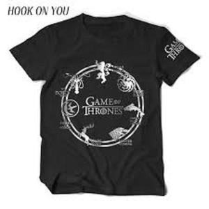 Game Of Thrones With Lion Printed T Shirt For Men
