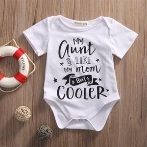 Cotton Newborn Toddler Baby Bodysuit Romper Infant Boy Girl Jumpsuit Kids Clothes Outfit