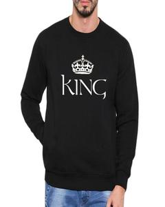 King Printed Sweatshirt For Men