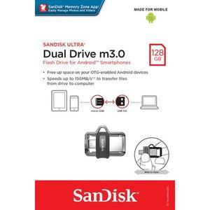 Sandisk OTG USB Flash Drive - SDDD3 - 128GB - Dual Drive m3.0