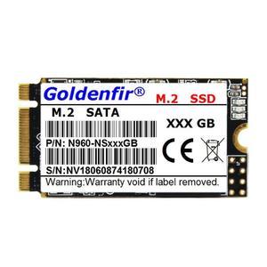 Huilopker Goldenfir M.2 SATA 2242 SSD Solid State Drive for Laptop Notebook Desktop Volume:128GB