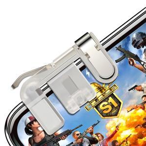 2Pcs Mobile Phone Gaming Pubg Trigger L1 R1 Shooting Controller