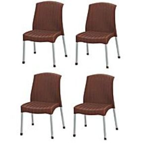 BossPack Of 4 - Res Relaxo Chair - Brown